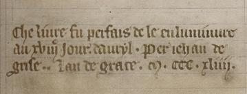 Oxford, Bodleian Library MS. Bodl. 264, fol. 208r (detail)