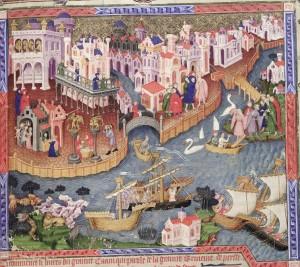 Oxford, Bodleian Library MS. Bodl. 264, fol. 218r (detail)