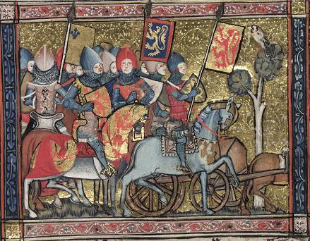 Oxford, Bodleian Library MS. Bodl. 264, fol. 66r (detail)